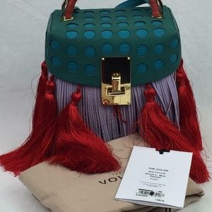 HE VOLON Great L Alice tassels mini bag